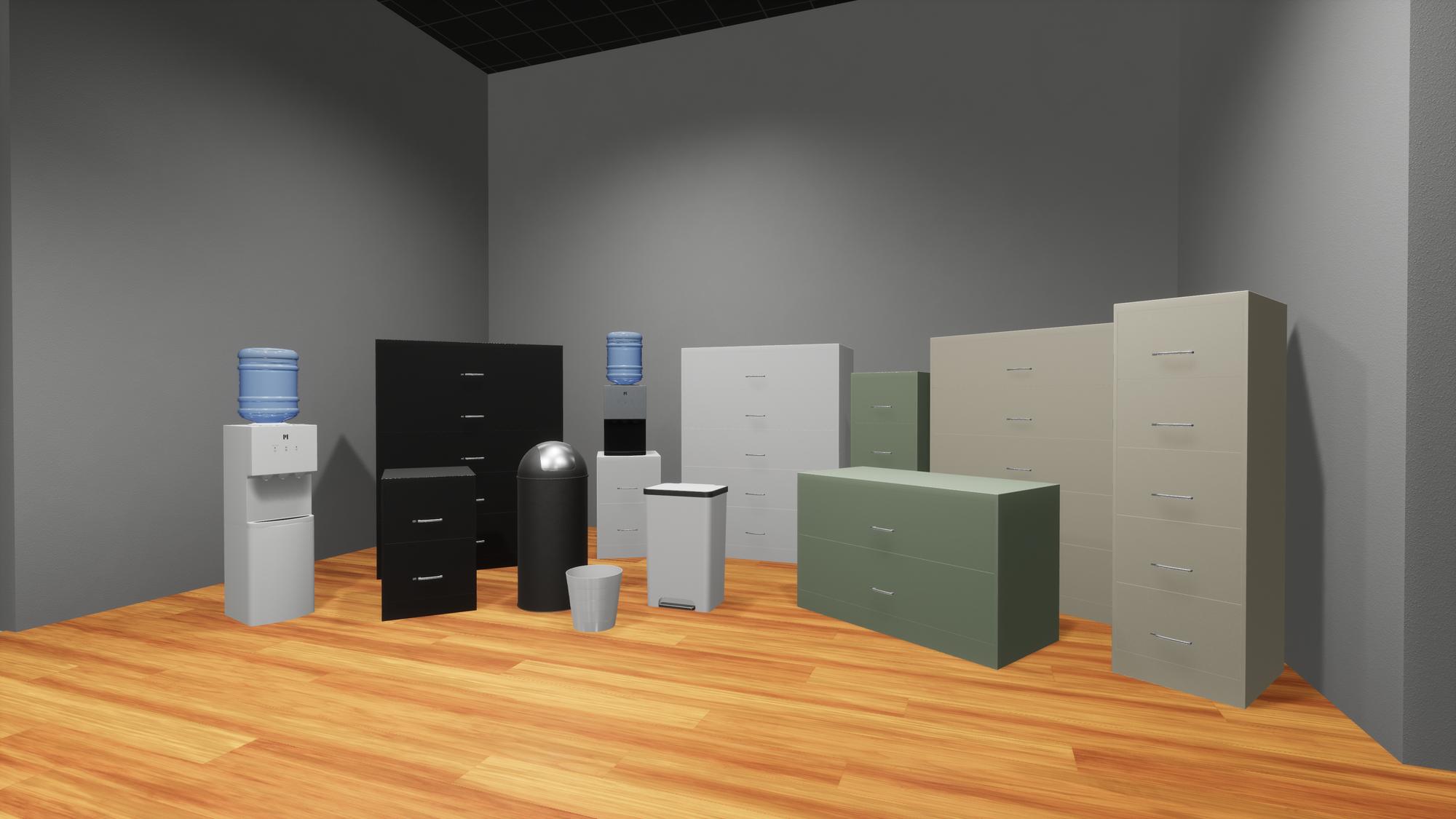 new office furnishings