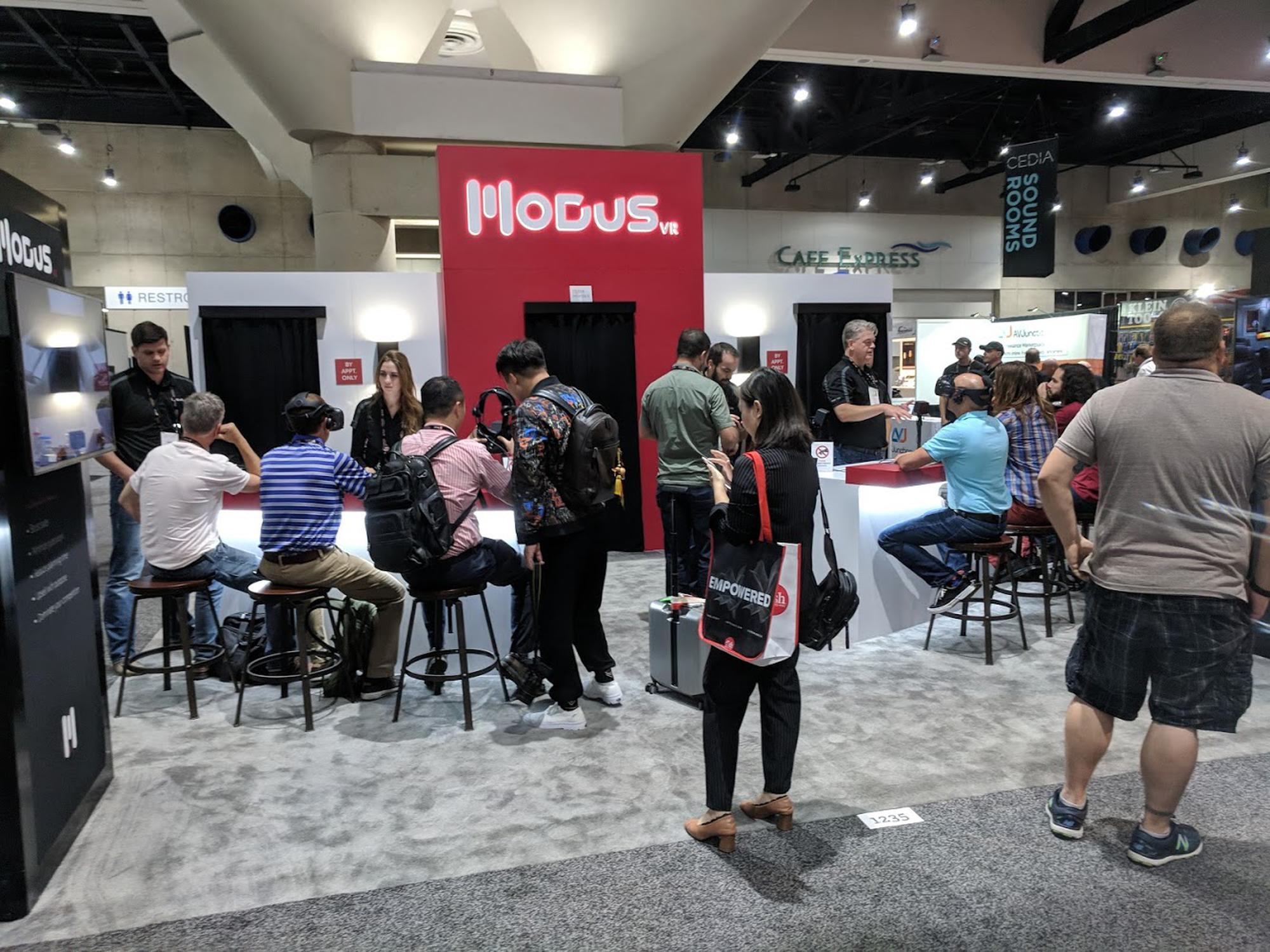 Modus VR at CEDIA 2018