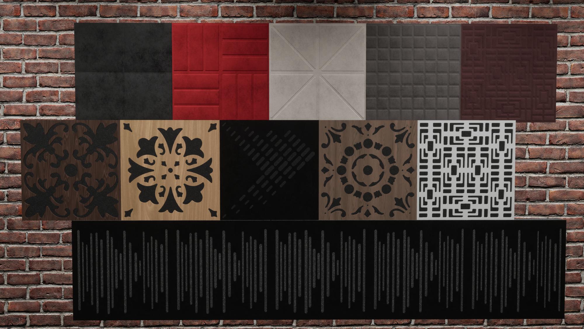 Vic wallpaper, vicpattern ultra, wavewood diffuser ultra